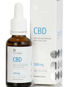 USA medical CBD olaj 30 ml 1000 mg
