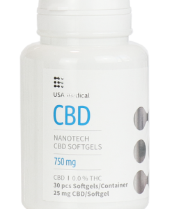 USA medical CBD kapszula 750 mg 30 db
