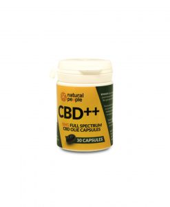 Natural People CBD++ lágyzselatin kapszula 30 db