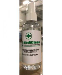alkoholos kézfertőtlenítő spray
