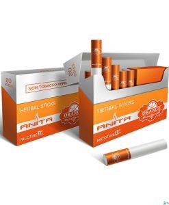 ANITA Narancs Ízű Nikotinmentes Hevítőrúd - 1 Doboz