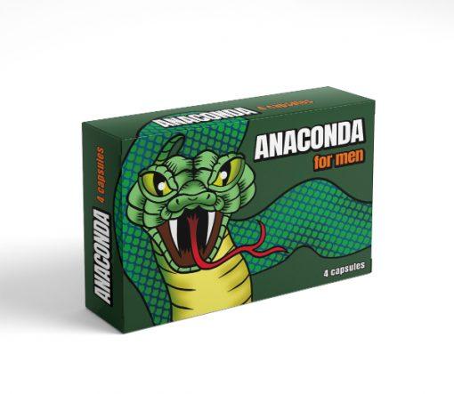 Anaconda 4 kapszulás alkalmi potencianő