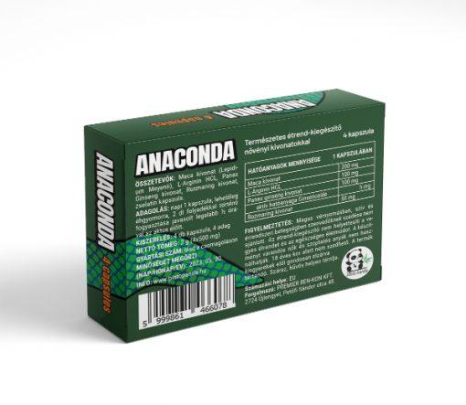 Anaconda 4 kapszulás alkalmi potencianő hátulról